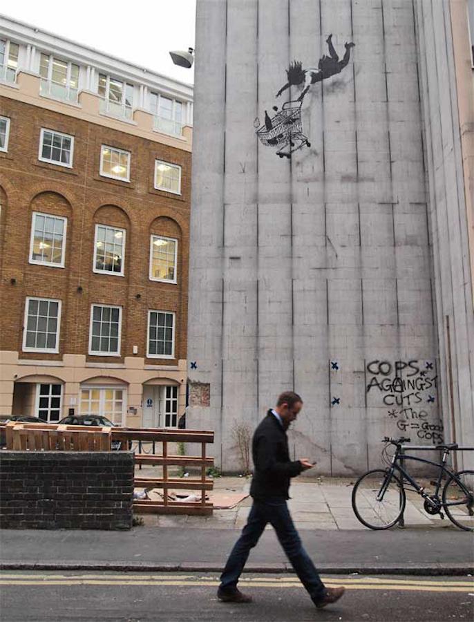 Banksy, Mayfair, 2011