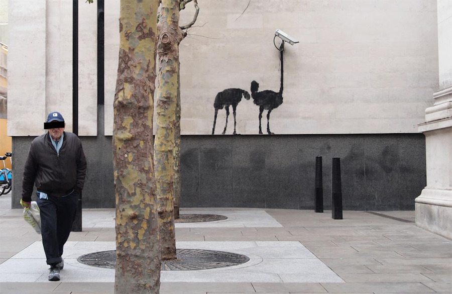 Banksy, National Gallery, London