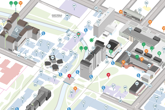 Otago University Campus Map Tellmeinpictures