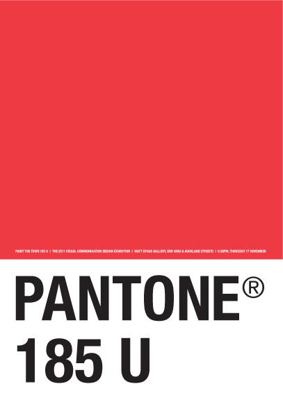Краска Pantone Red 185 - для флексографской и