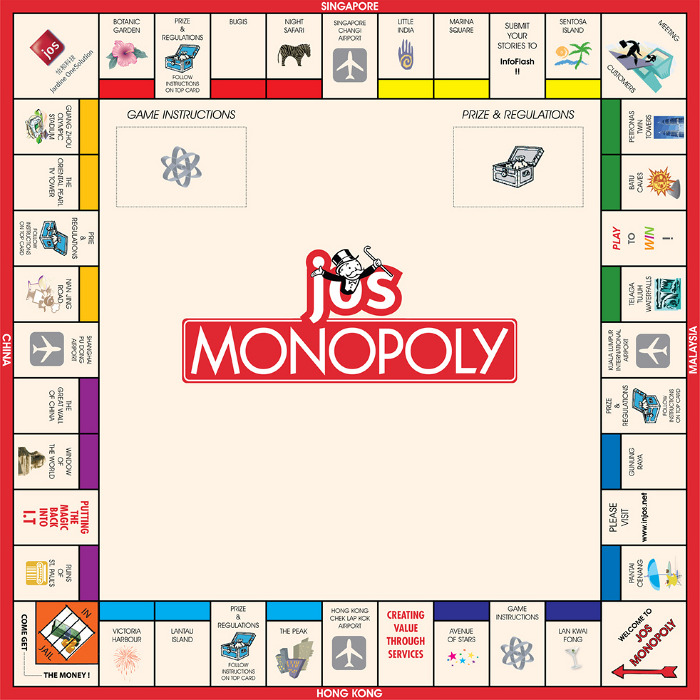 Jos X Monopoly Wesley T Portfolio