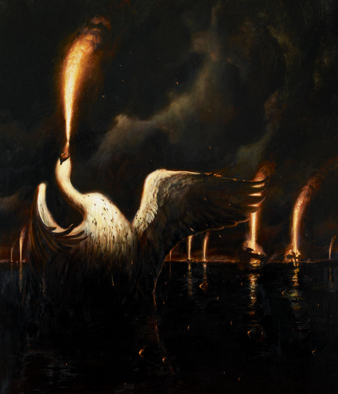 The Surreal Work of Martin Wittfooth